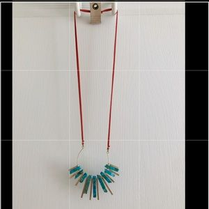 Anthropology necklace - NEW!